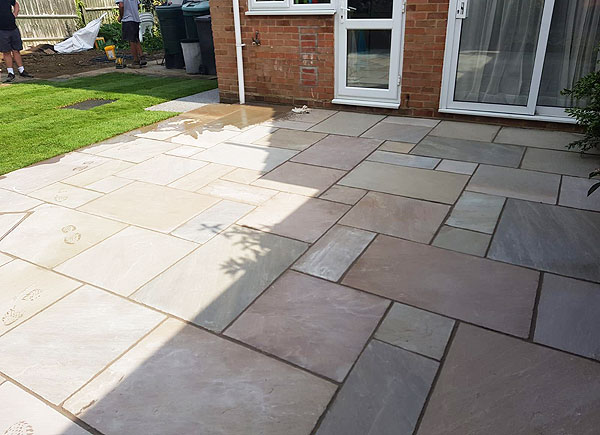 Expert Installed Stone Patios